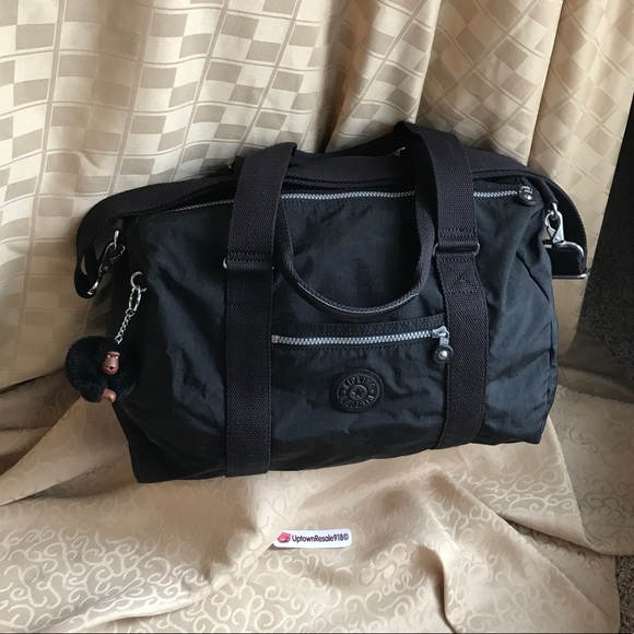 c33759c53dda Kipling Handbags - 🚨 KIPLING ITSKA SOFT DUFFEL BLK GYM TRAVEL BAG